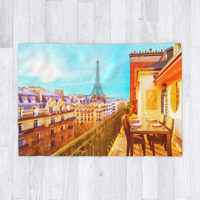 Blanket - Paris View - printonitshop