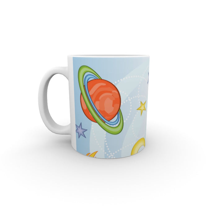11oz Ceramic Mug - Space Adventures - printonitshop