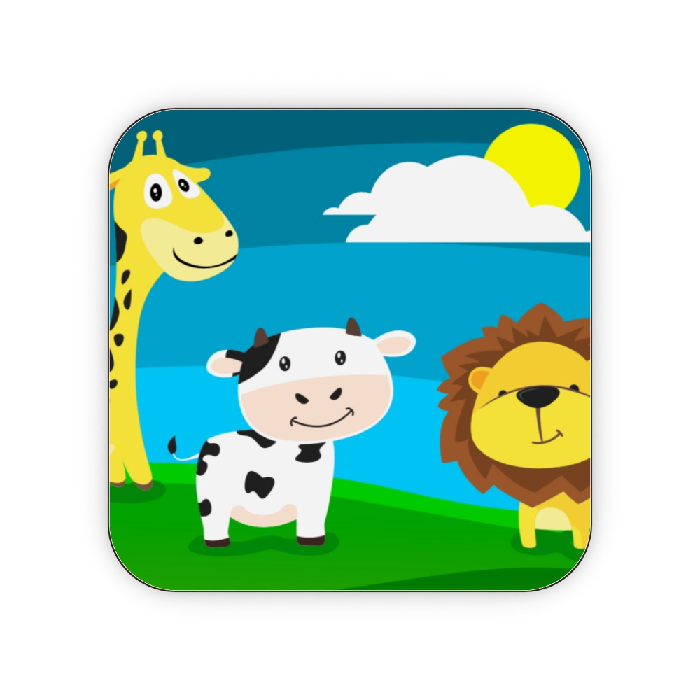 Coasters - Animal Friends by  Print On It