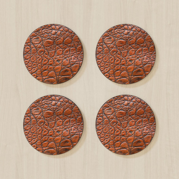 Coasters - Brown Croc - printonitshop