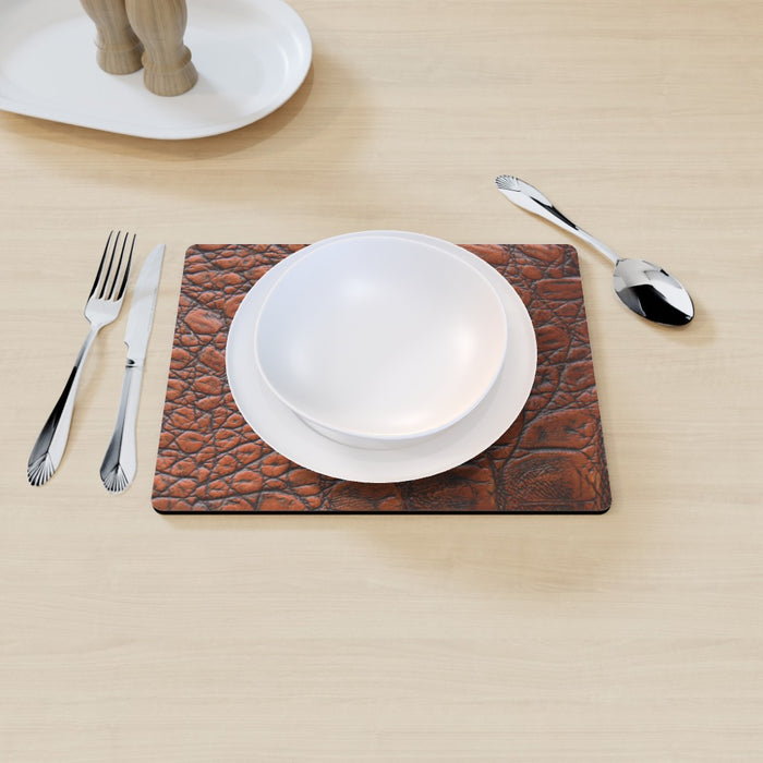 Placemat - Brown Croc - printonitshop