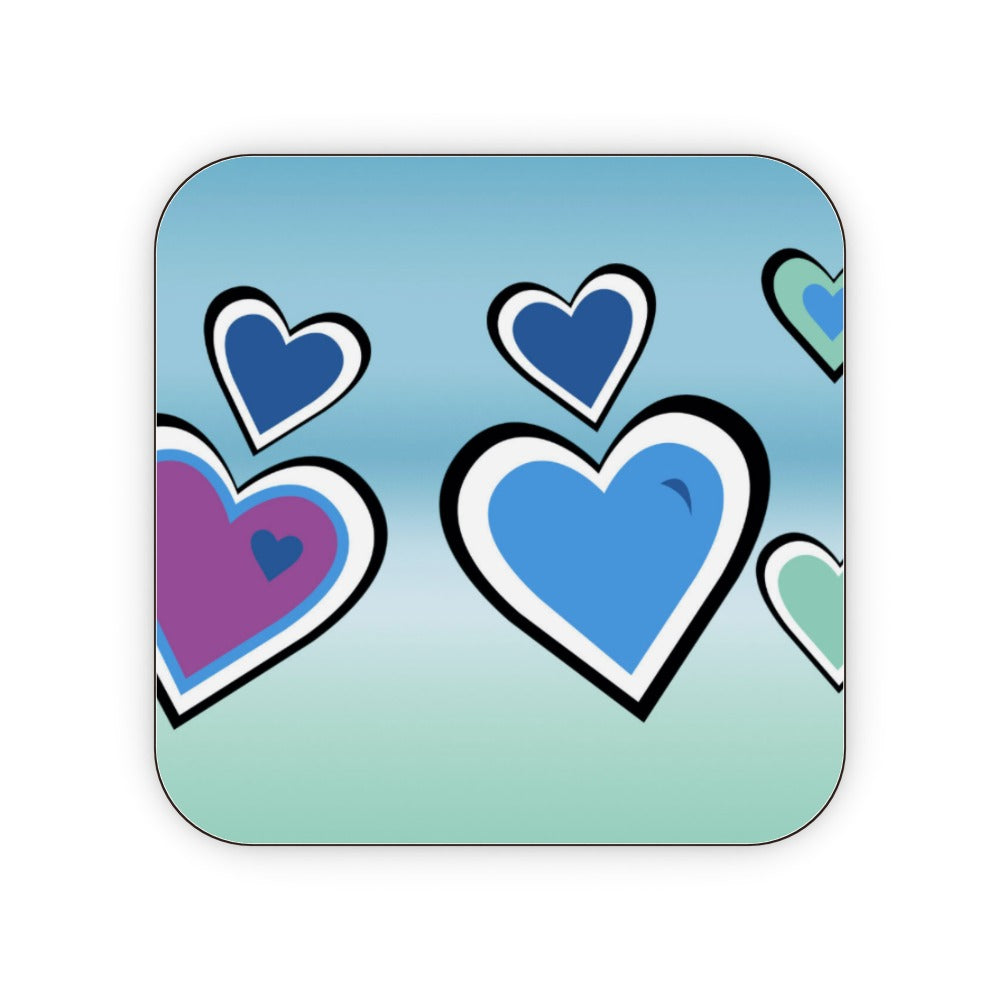 Coasters - Hearts, Kitchen & Dining by Print On It