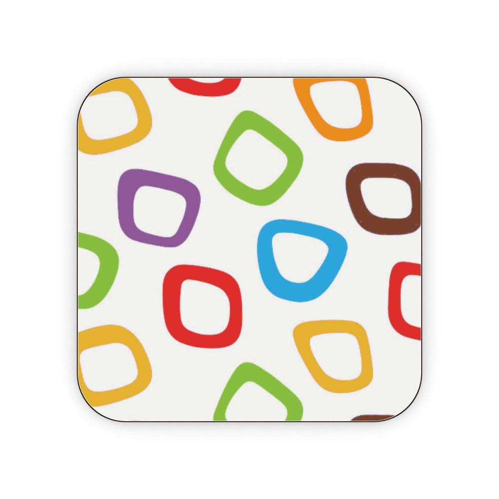 Coasters - Coloured Cherios, Barware by Print On It
