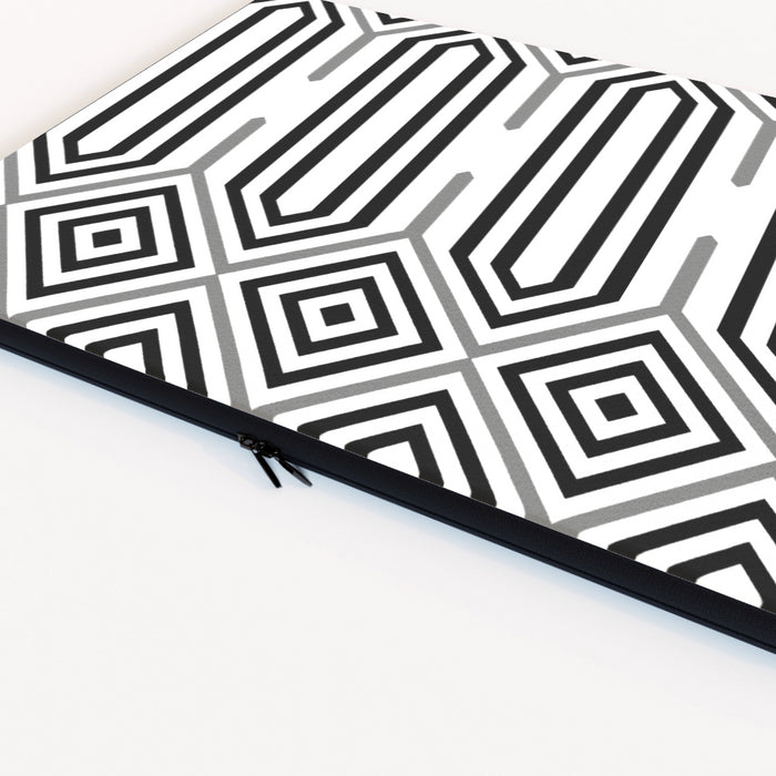 Laptop SKin - Black and White Structure - printonitshop