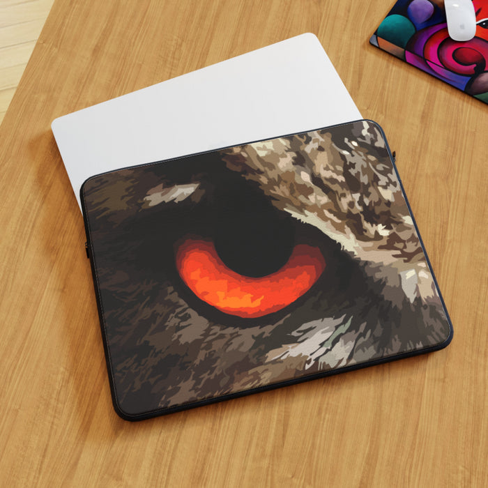 Laptop Skin - Owl Eye - printonitshop