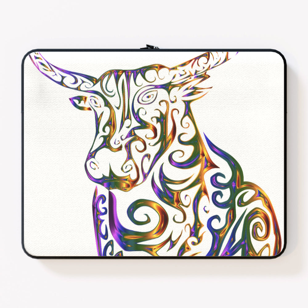 Laptop Skin - Bull Horn, Electronics by Print On It