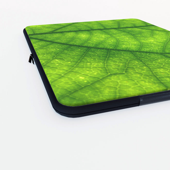 Laptop Skin - Green Leaf - printonitshop