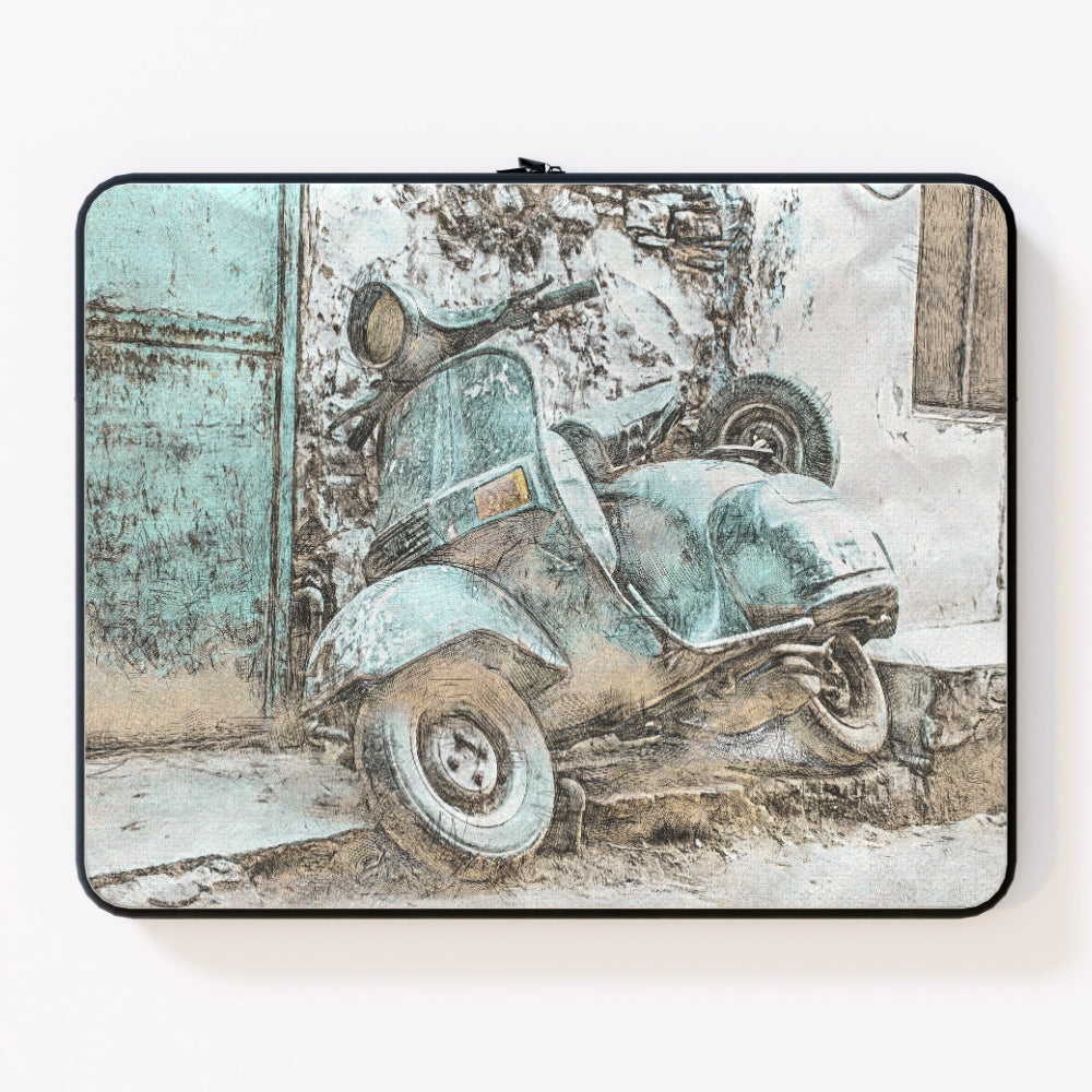 Laptop Skin - Classic Scooter by  Print On It