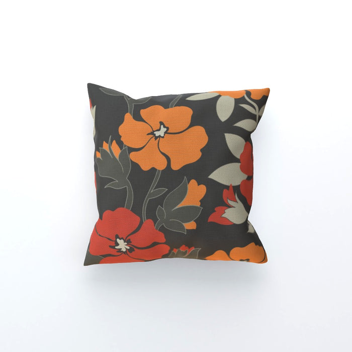 Cushions - Orange Flowers - printonitshop