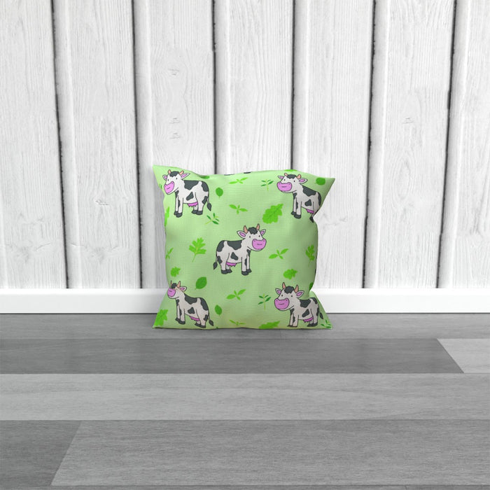 Cushions - Green Cows - printonitshop
