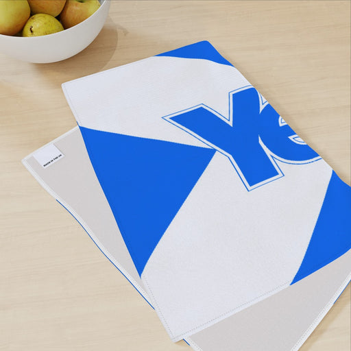 Tea Towel - Scotland Yes - printonitshop