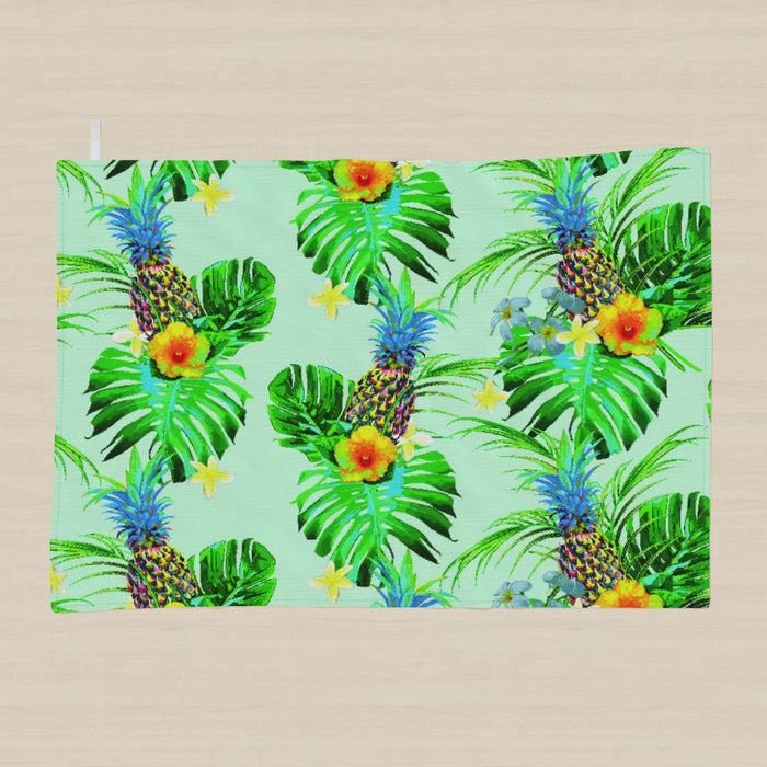 Tea Towel - Tropical Green - printonitshop