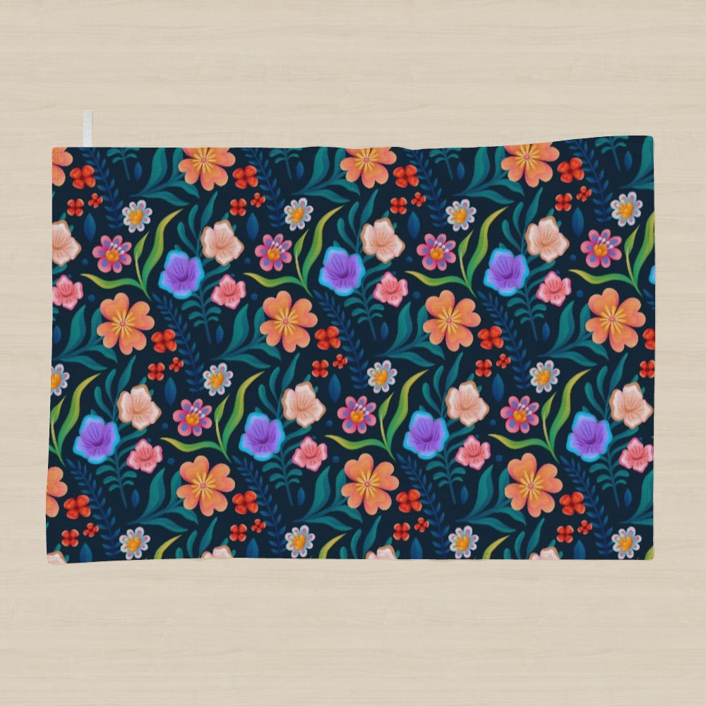 Tea Towel - Very Floral, Linens & Bedding by Print On It