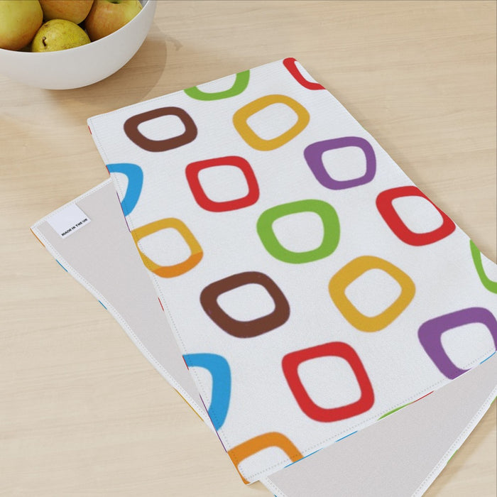 Tea Towel - Coloured Cherios - printonitshop
