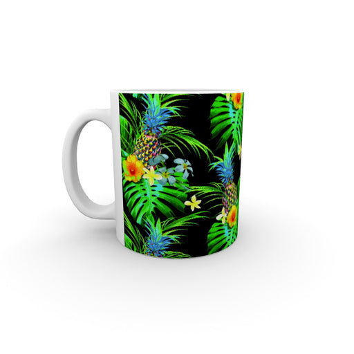 11oz Ceramic Mug - Tropical Black - printonitshop