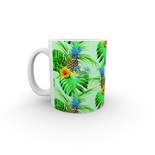 11oz Ceramic Mug - Tropical Green - printonitshop