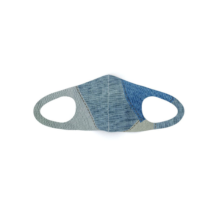 Ear Loop Mask - Denim - printonitshop