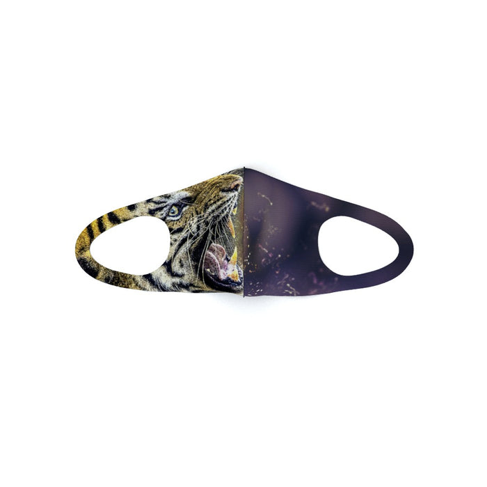Ear Loop Mask - Digital Tiger - printonitshop