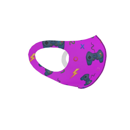 Ear Loop Mask - Bright Pink Gaming - printonitshop