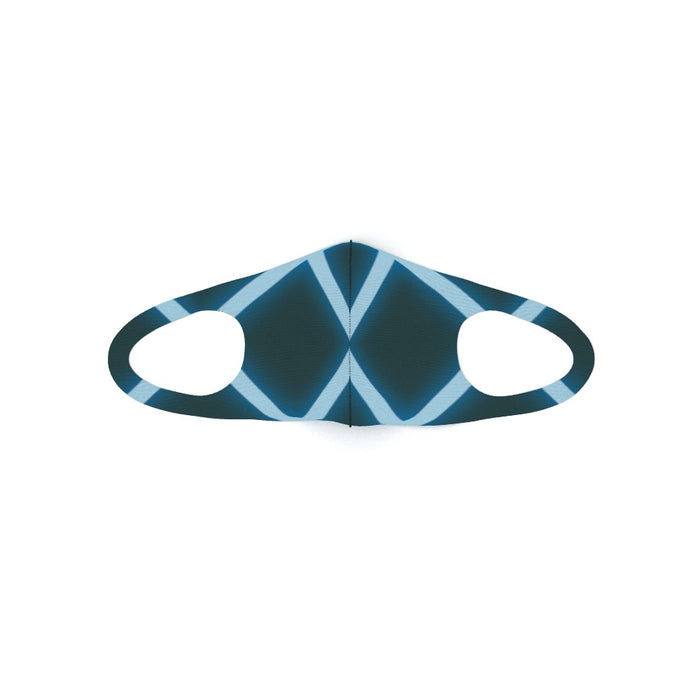 Ear Loop Mask - Neon Blue - printonitshop