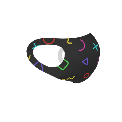 Ear Loop Mask - Memphis Gamer - printonitshop