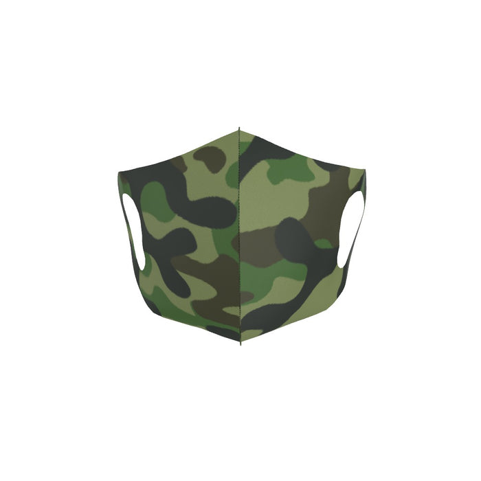 Ear Loop Mask - Camo Green - printonitshop