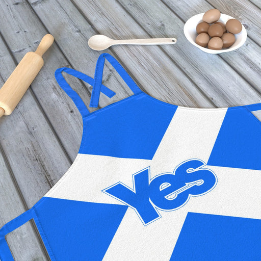 Apron - Scotland Yes - printonitshop