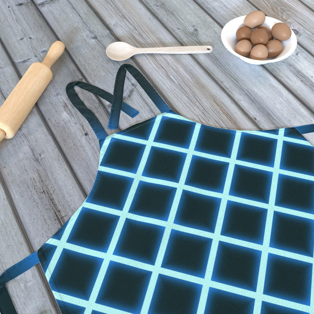 Apron - Neon Blue, Kitchen & Dining by Print On It