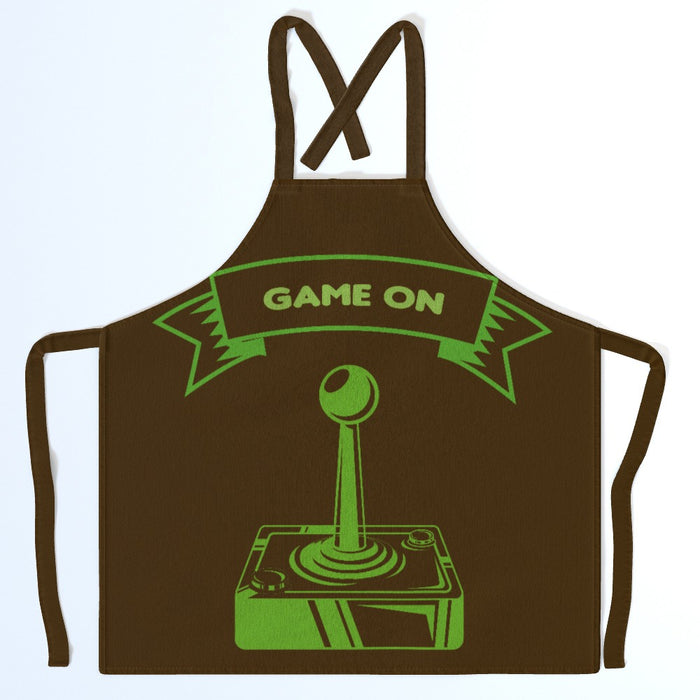 Apron - Game On - printonitshop