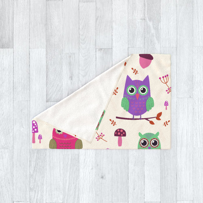 Blanket - Owl Friends - printonitshop