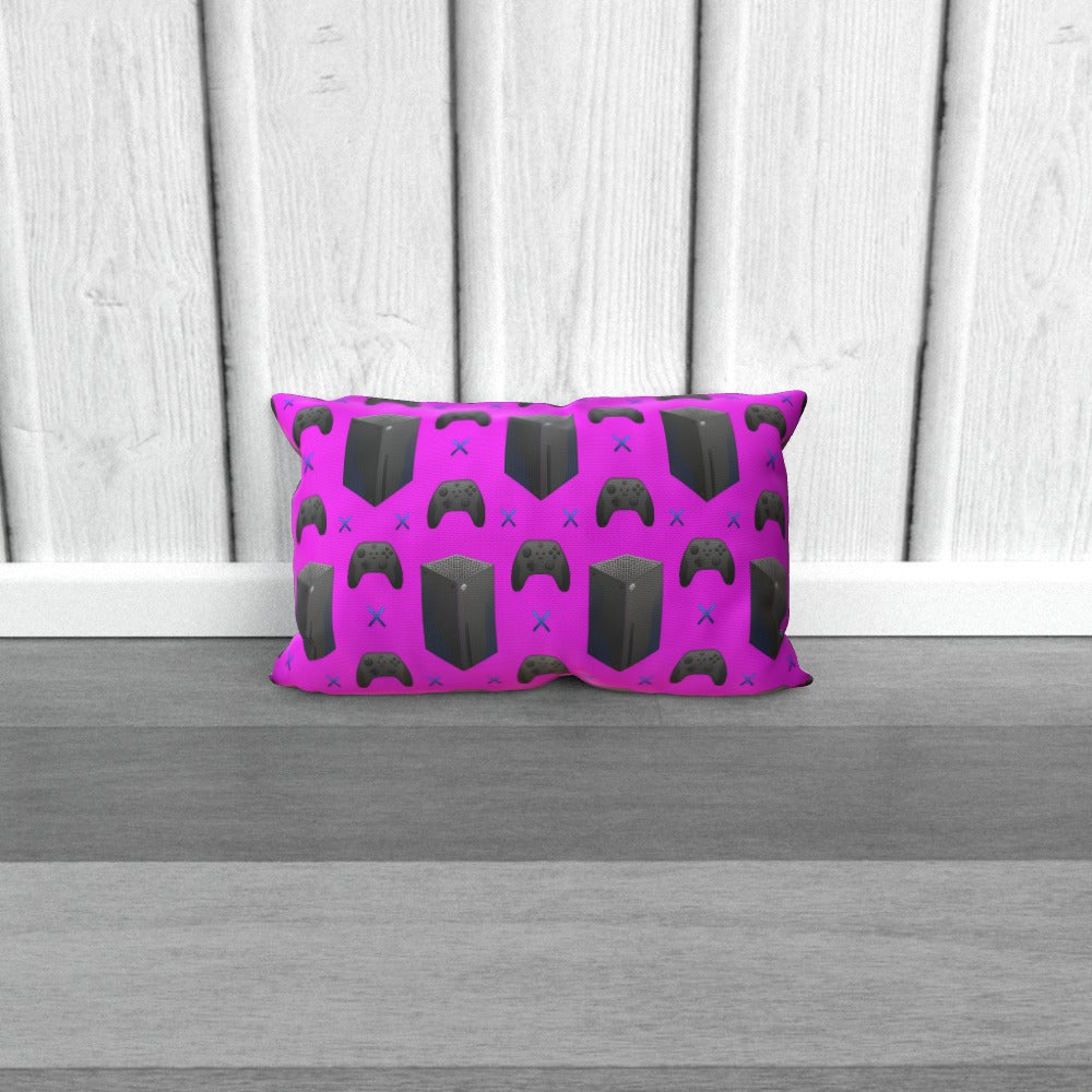 Cushion - X Boxing Pink by  Print On It