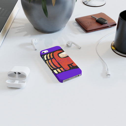 iPhone Cases - Among Us Purple - printonitshop