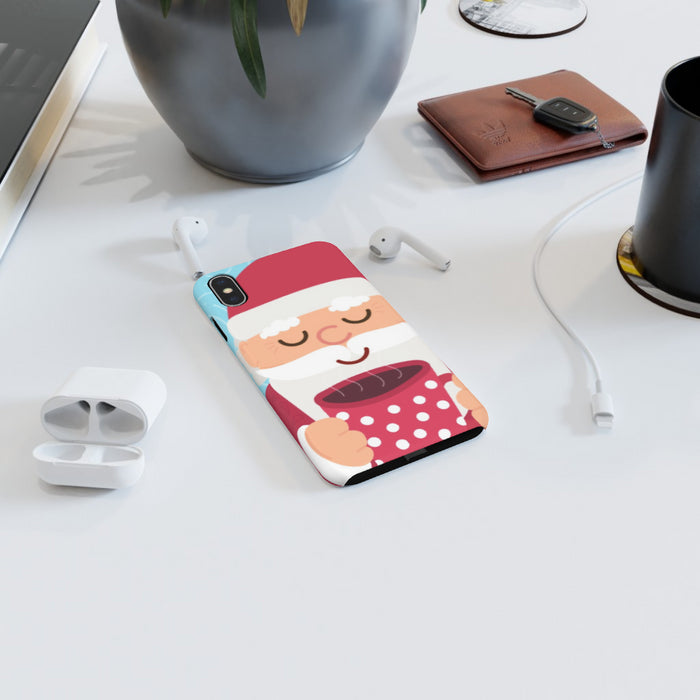 iPhone Cases - Santa's Hot Drink - printonitshop
