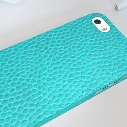 iPhone Cases - Textured Turquoise - printonitshop