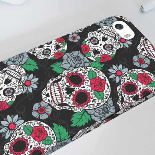 iPhone Cases - Skulls and Roses - printonitshop