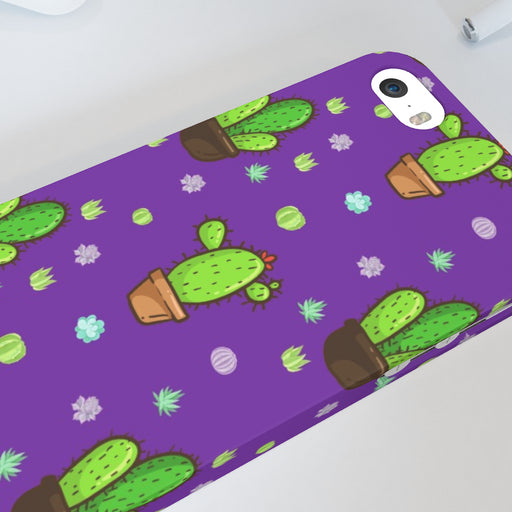 iPhone Cases - Cactus Purple - printonitshop
