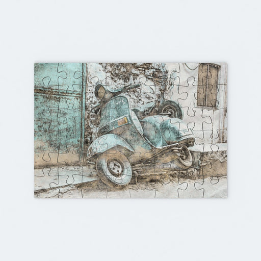 Jigsaw - Classic Scooter - printonitshop