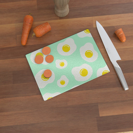 Glass Chopping Boards - Sunny Side Up - printonitshop