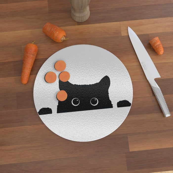 Glass Chopping Boards - Kitty - printonitshop