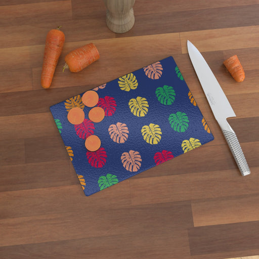 Glass Chopping Boards - Leaves - printonitshop