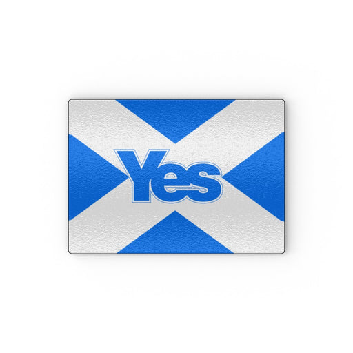 Glass Chopping Boards - Scotland Yes - printonitshop