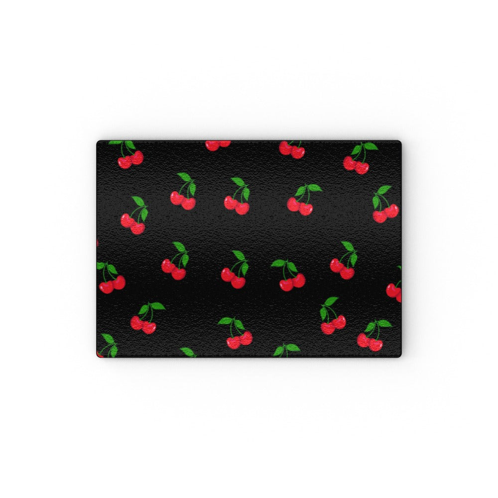 Glass Chopping Boards - Black Cherries, Home & Garden by Print On It