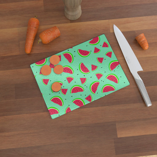 Glass Chopping Boards - Melon - printonitshop