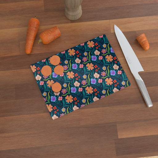 Glass Chopping Boards - Very Floral - printonitshop