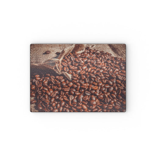 Glass Chopping Boards - Coffee Beans - printonitshop