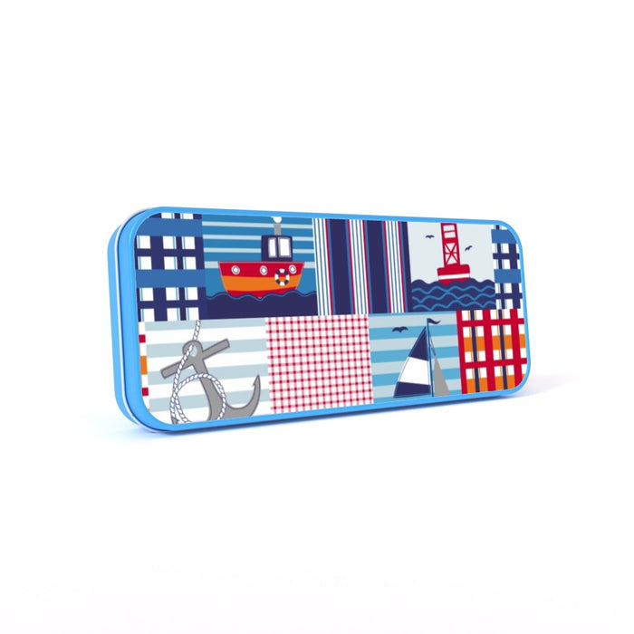 Pencil Tins - Nautical - printonitshop