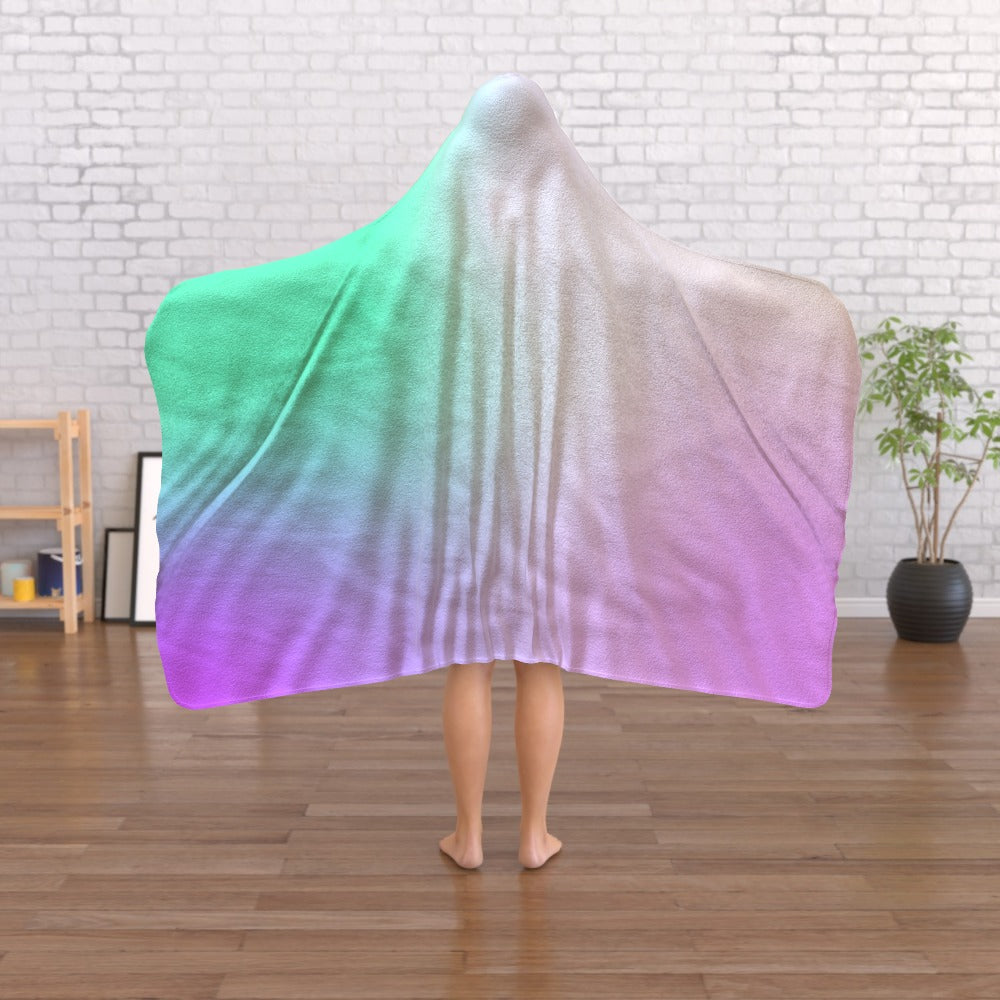 Hooded Blanket -  Holographic, Linens & Bedding by Print On It