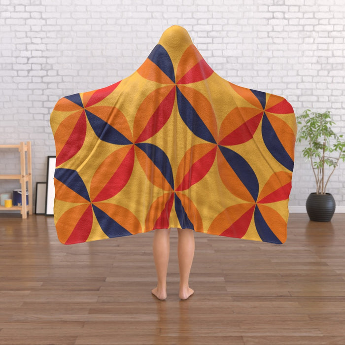 Hooded Blanket - Abstract One - printonitshop