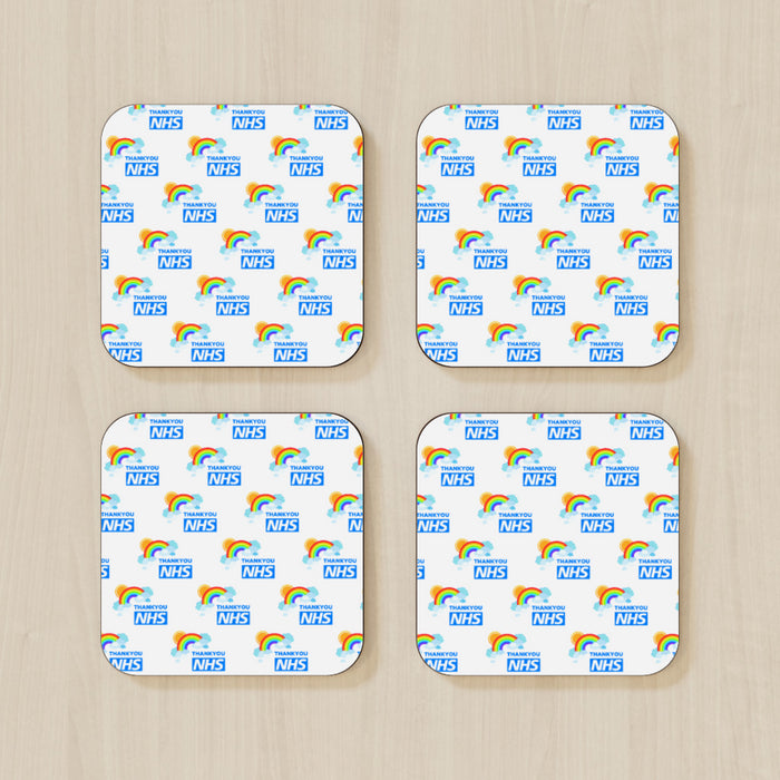 Coasters - NHS Rainbows - printonitshop