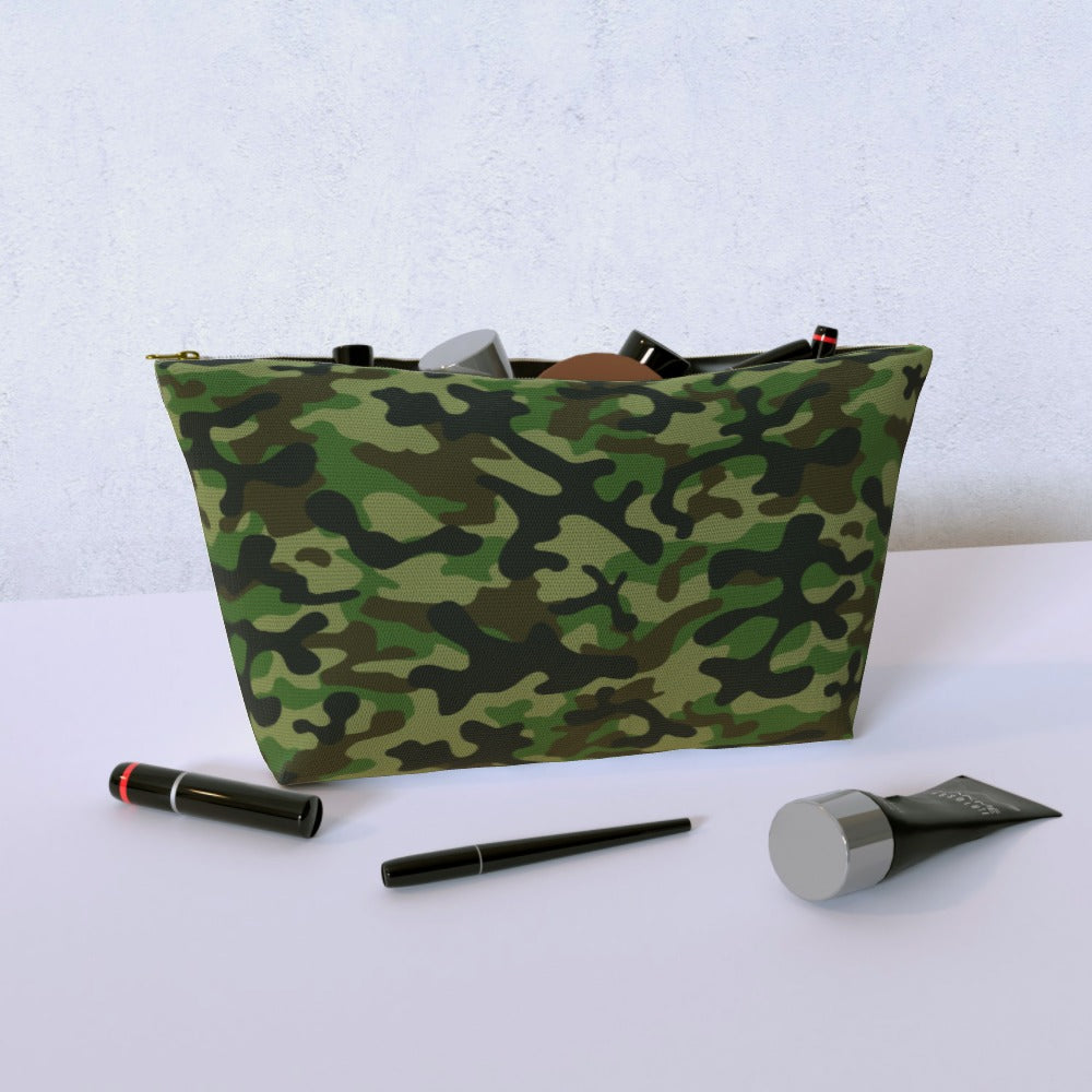 Cosmetic Bag - Camo Green, Luggage & Bags by Print On It